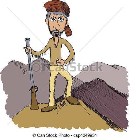Mountain man Illustrations and Clip Art. 9,444 Mountain man.