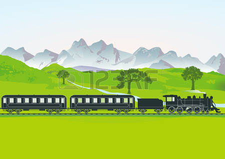 4,789 Mountain Meadow Stock Vector Illustration And Royalty Free.