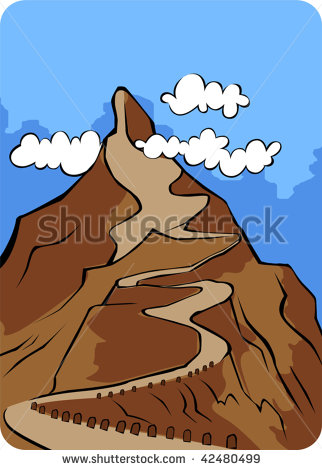 Mountain Path Stock Vectors, Images & Vector Art.
