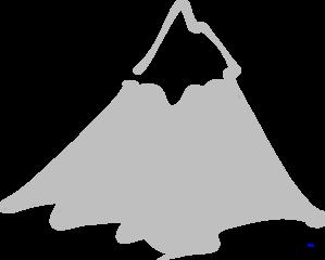 Mountain Peak Logo No Clouds Clip Art at Clker.com.