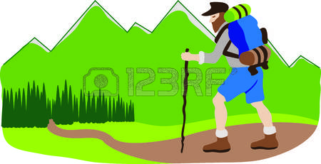 4,730 Mountain Hike Stock Illustrations, Cliparts And Royalty Free.