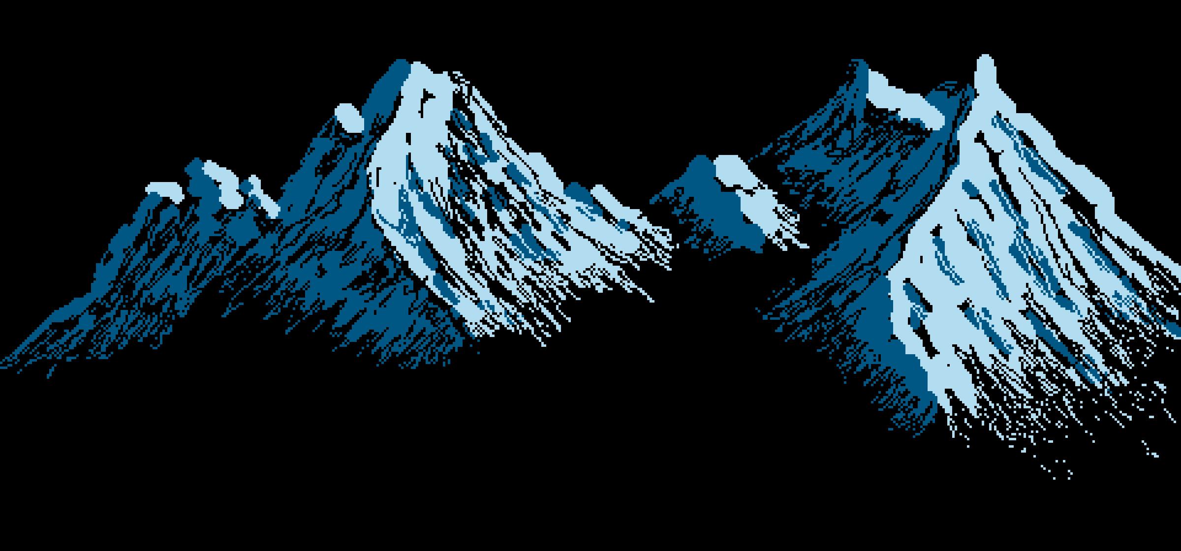 Mountainous landforms,Mountain,Blue,Glacial landform,Summit.