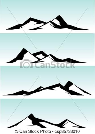 Mountain ridge Clipart Vector and Illustration. 928 Mountain ridge.