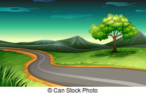 Mountain road Clipart Vector and Illustration. 5,798 Mountain road.