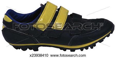 Stock Photography of Mountain bike shoe x23938410.