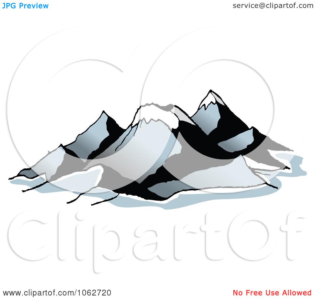 Clipart Mountain Logo 3.
