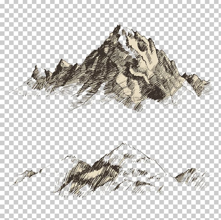 Drawing Mountain Sketch PNG, Clipart, Art, Big Cats.