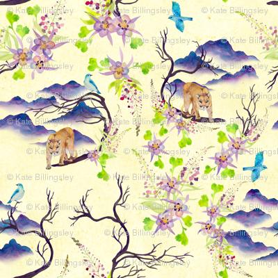 Mountain Spirit fabric.