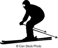 Mountain skier Clipart Vector and Illustration. 4,909 Mountain.