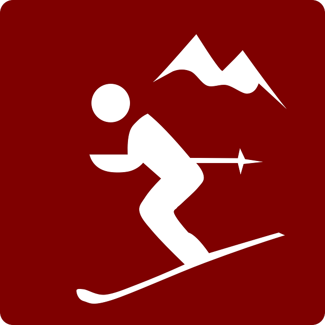 Free vector graphic: Skiing, Downhill, Mountain Sports.