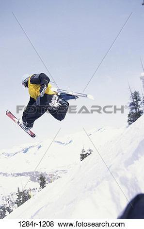 Pictures of skiing, mountain, sports, winter sports, Idaho, ski.