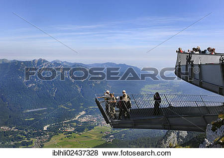 "Pictures of ""AlpspiX, viewing platform at the Alpspitzbahn."