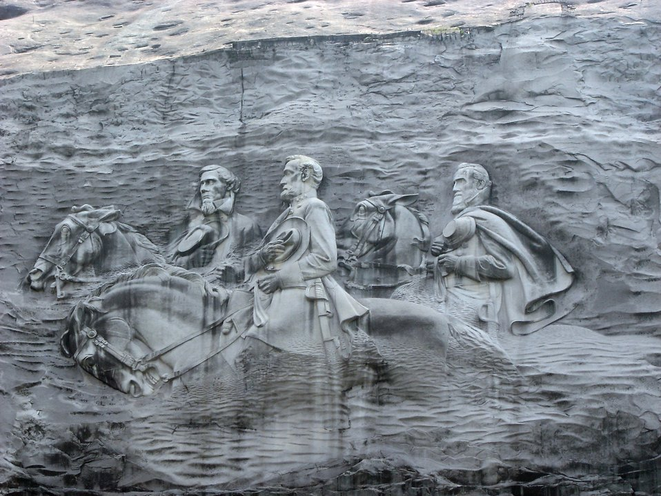 Stone Mountain Carving Pictures to Pin on Pinterest.