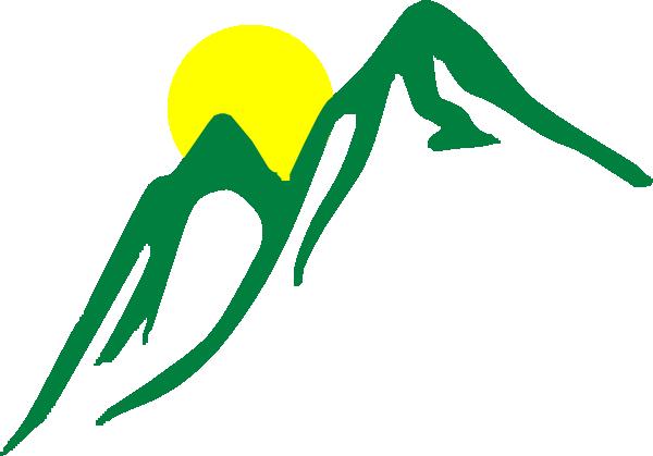 Mountain Sunrise Clip Art at Clker.com.