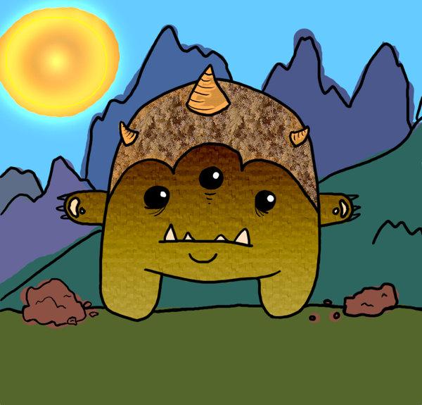 Rocky Mountain Troll by kayzer.