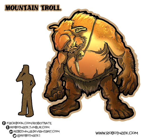 Mountain Troll by R0B0TNiNJA on DeviantArt.
