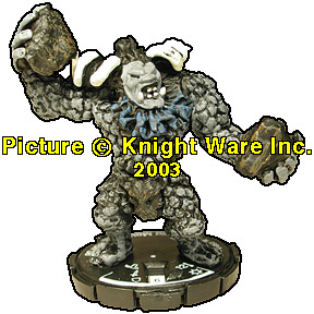 MAGE KNIGHT WHIRLWIND FIG # 53 WILD MOUNTAIN TROLL.