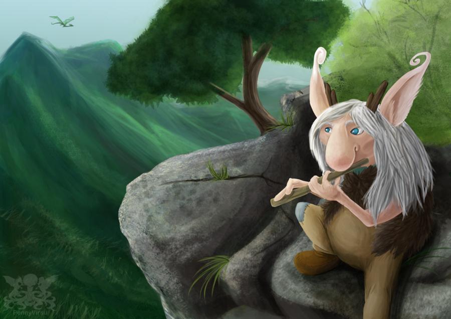 Mountain Troll by Penny.