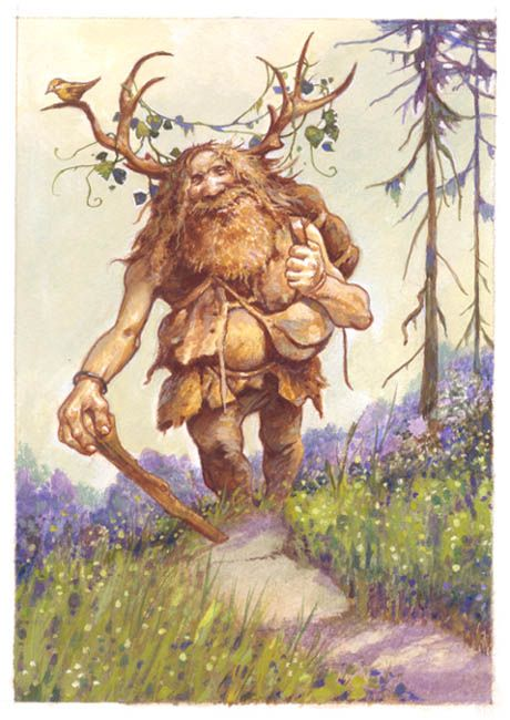 Olaf the Mountain Troll by Larry MacDougall.