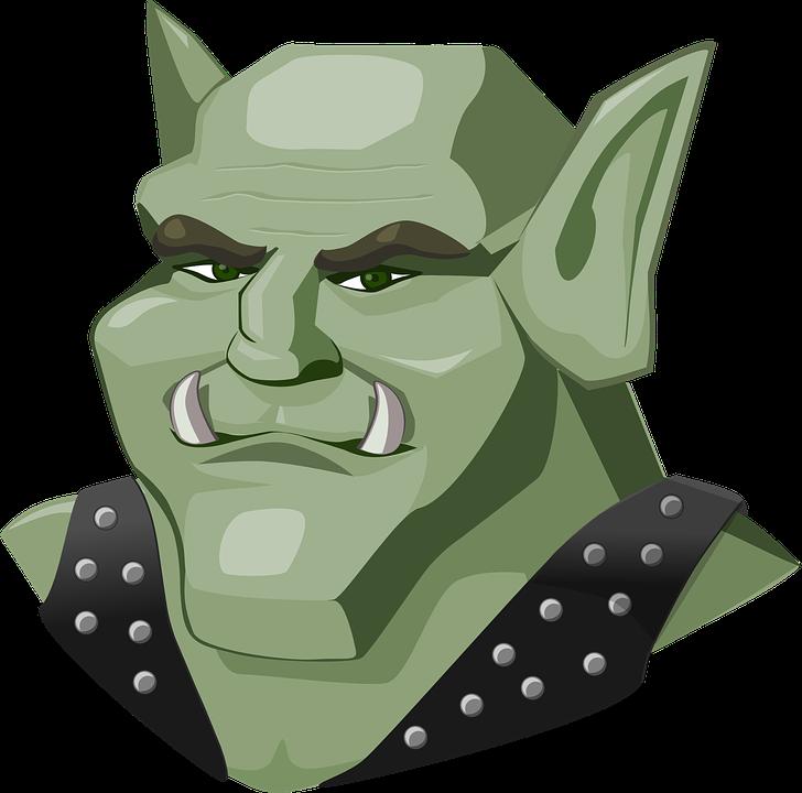 Free vector graphic: Troll, Goblin, Mountain Troll.