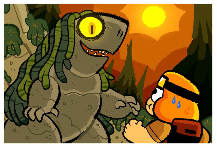 Mountain Troll Encounter by BillSpooks on DeviantArt.