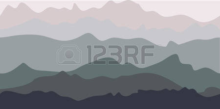 32,563 Mountain Silhouette Stock Vector Illustration And Royalty.