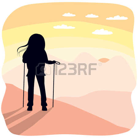 266 Mountain View Girl Cliparts, Stock Vector And Royalty Free.