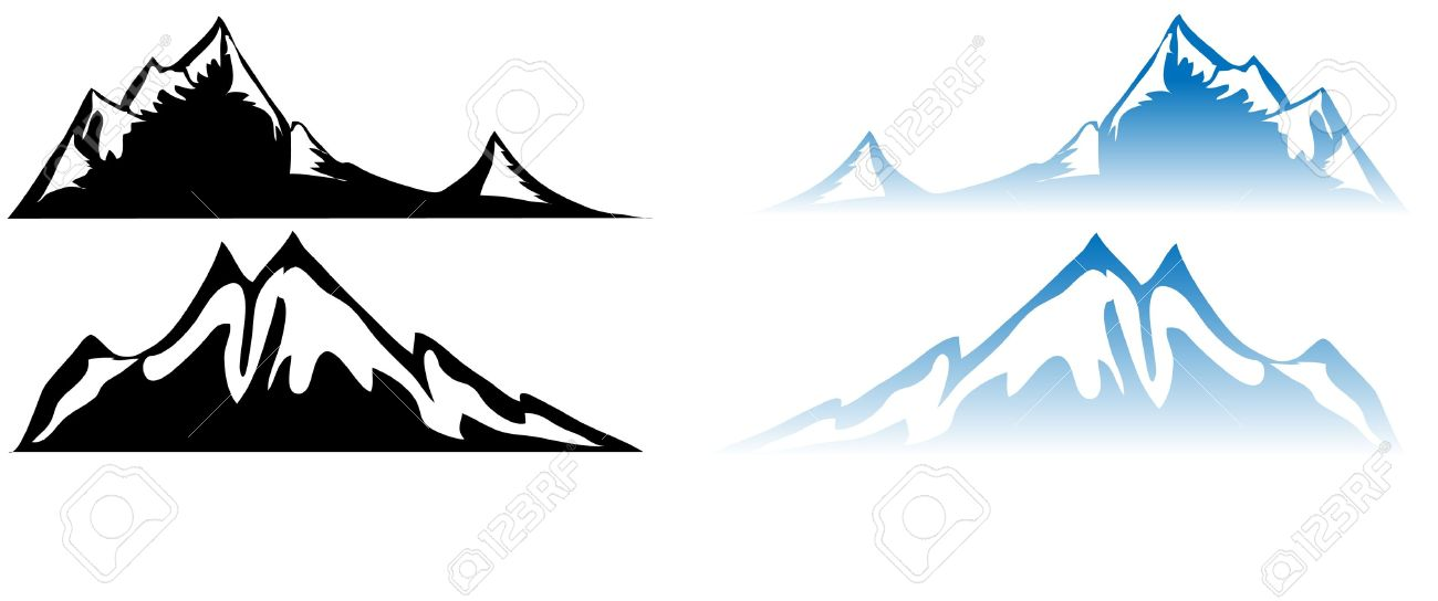 Mountain Water Reflection Royalty Free Cliparts, Vectors, And.