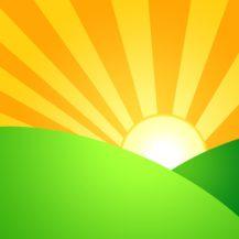 Desktop Sun Rising Cli Clifest With Green Mountain Pics High.