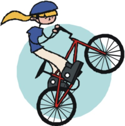 Mountainbike Clipart.