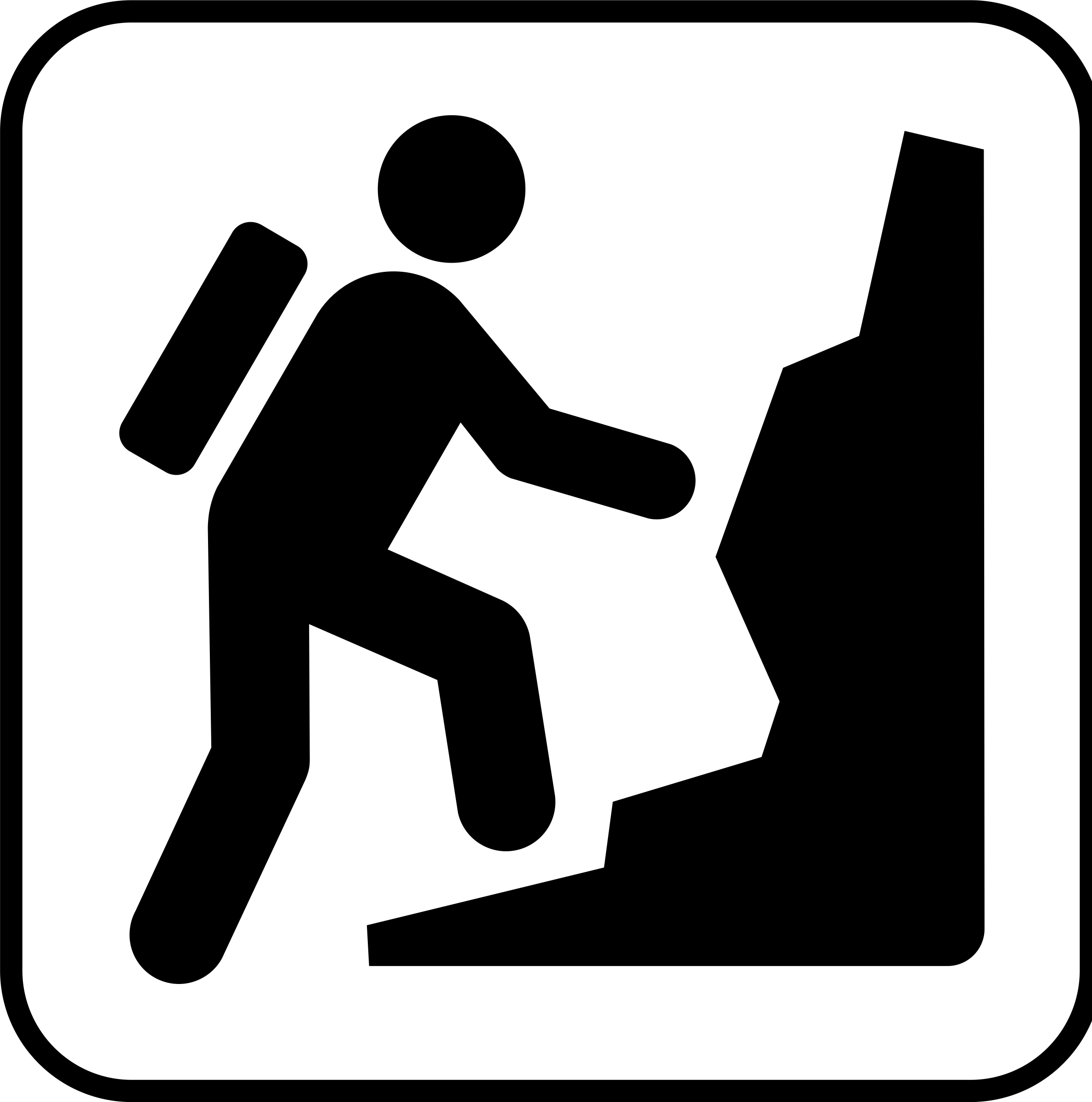 Mountaineering clipart.