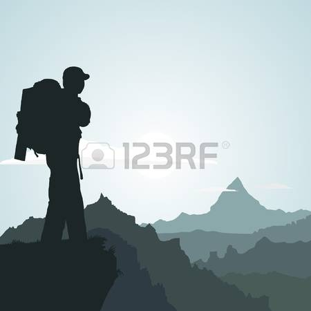 5,979 Mountaineering Stock Illustrations, Cliparts And Royalty.