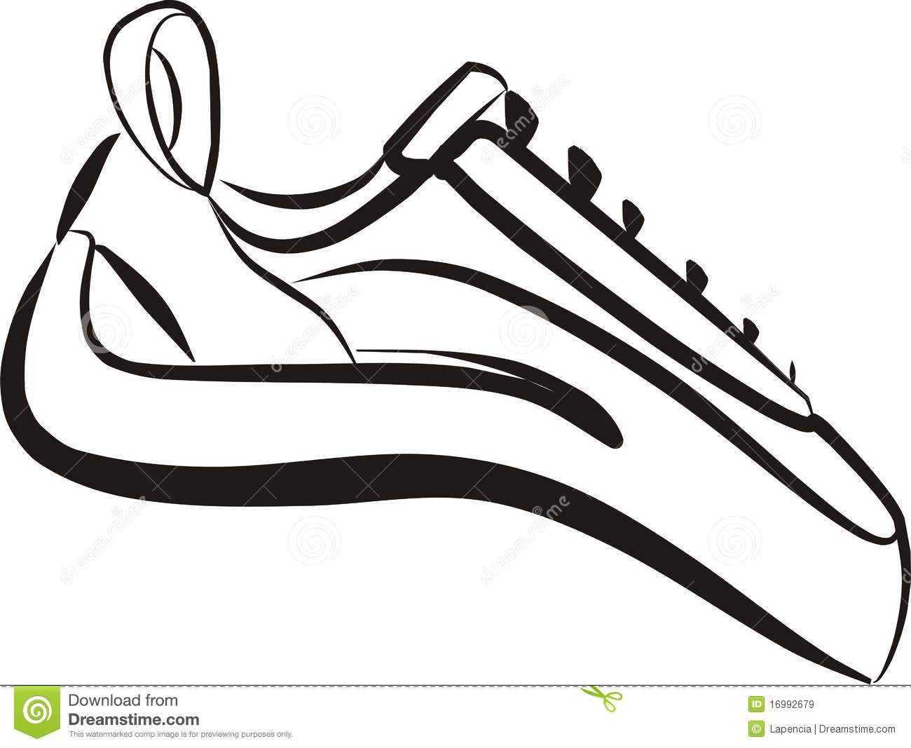 Climbing Shoes Stock Illustrations.
