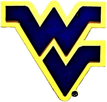 West Virginia Mountaineers Logo Magnet.