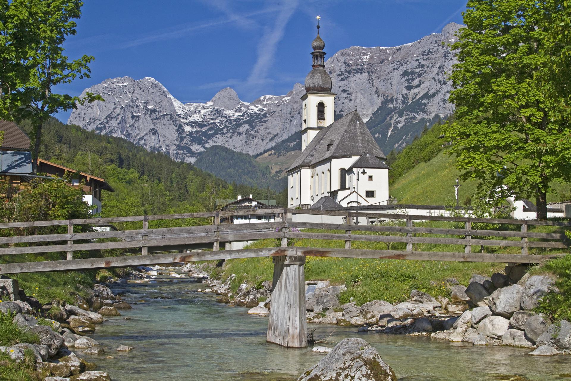 Watzmann and Köngissee: holiday in Berchtesgaden.