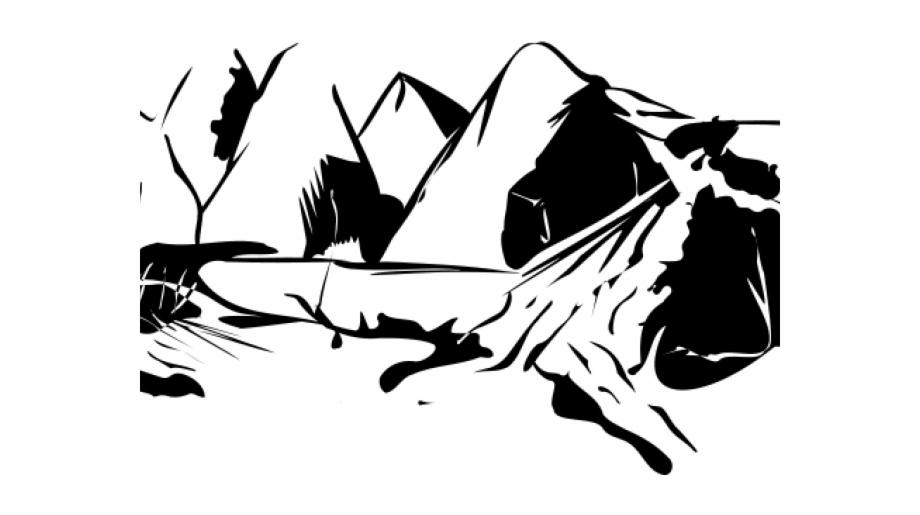 Mountain Clipart Transparent Background.