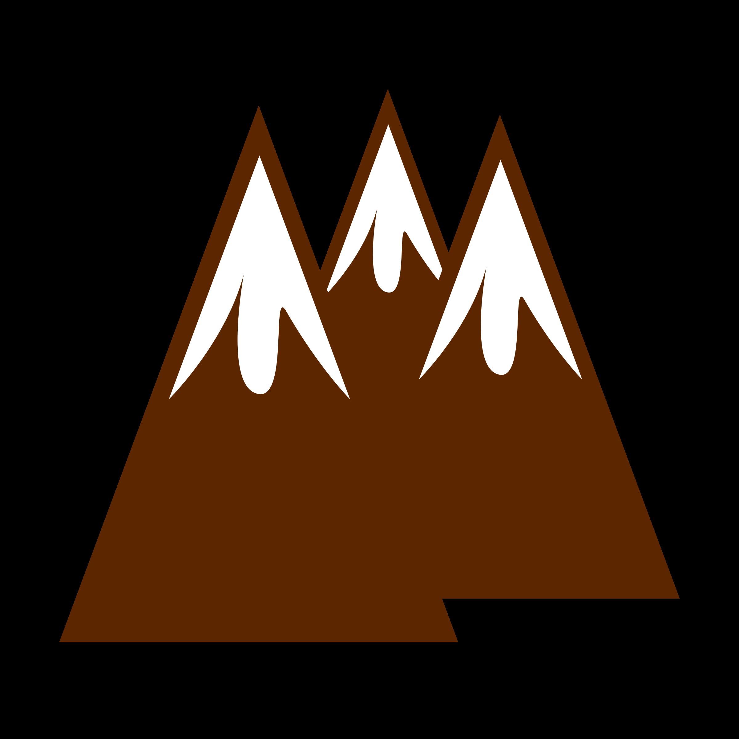 Mountains mountain clip art.