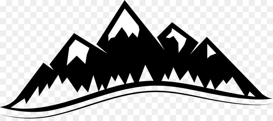 Mountain Logo Clipart.