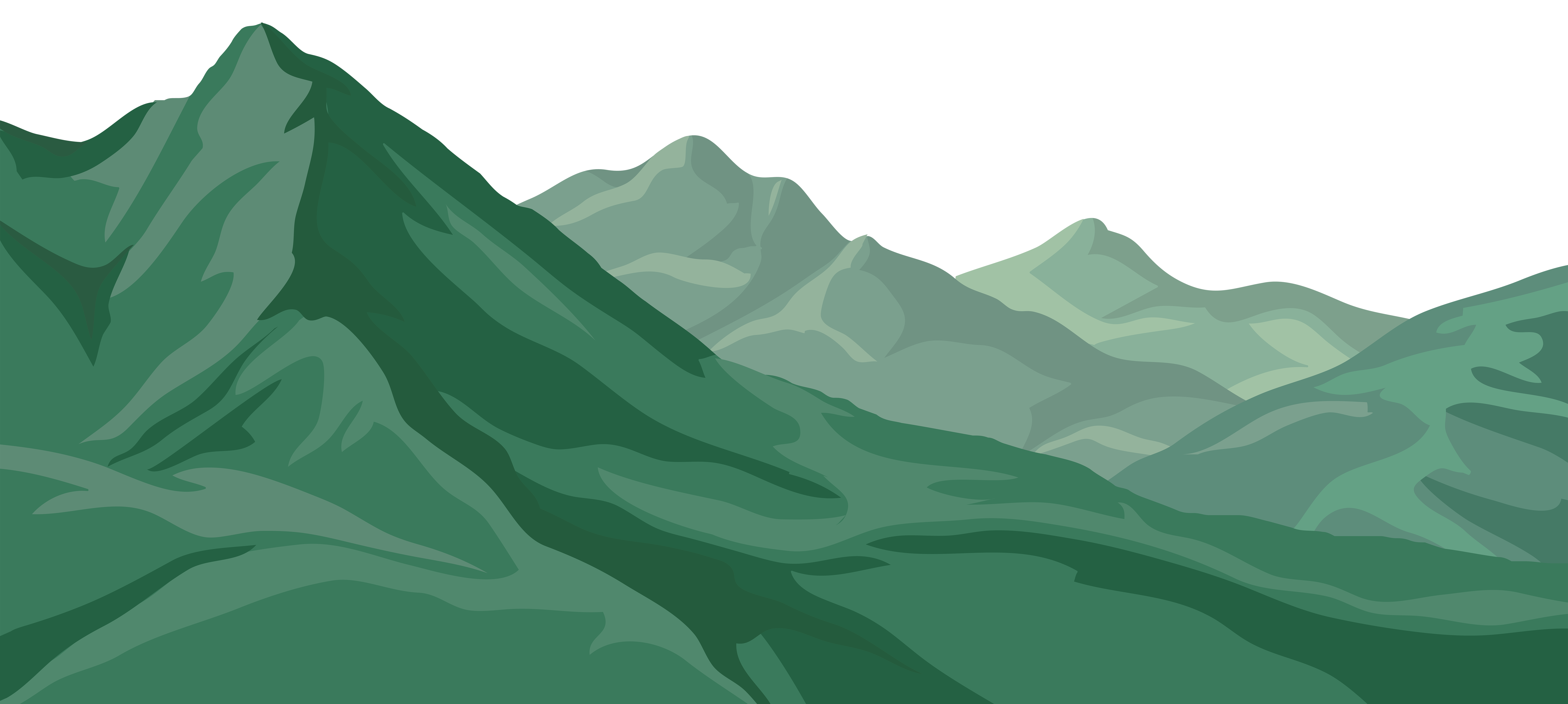 Mountain PNG Clip Art Image.