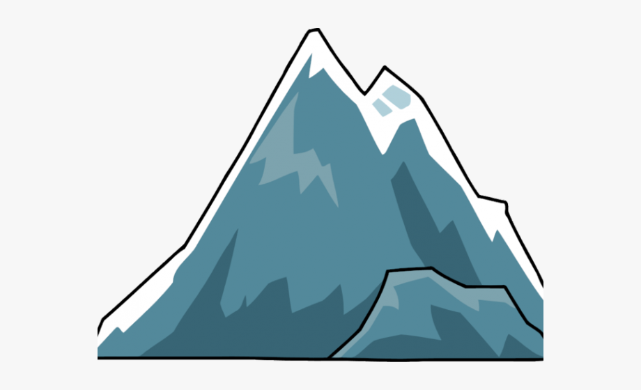 Peak Clipart Single Mountain.