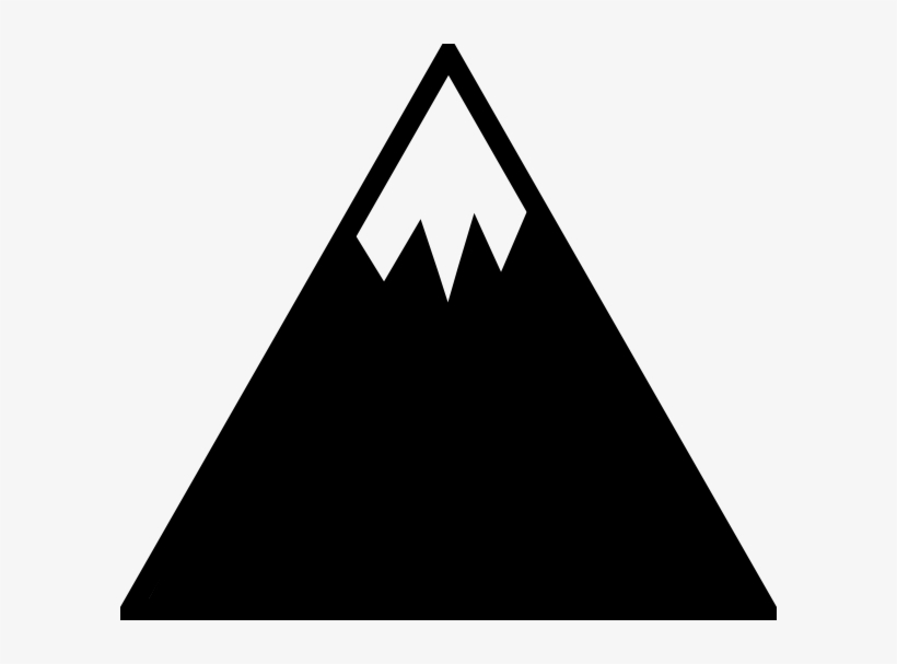 Mountain Outline Png For Kids.