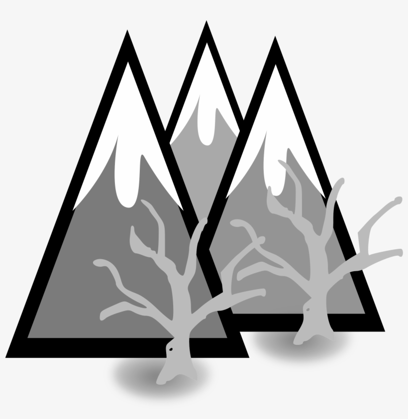 Clipart Library Library Clipart Mountains Black And.