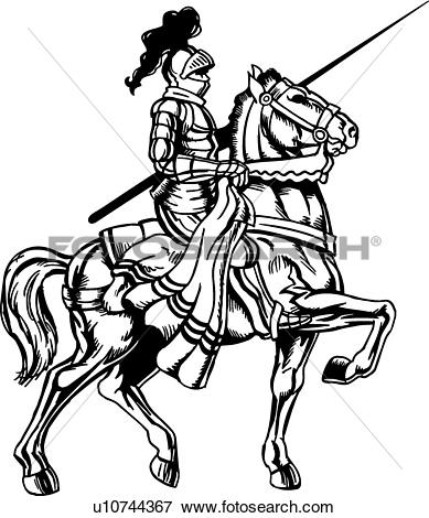 Mounted knight Clipart Royalty Free. 122 mounted knight clip art.