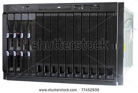 Blade Server Clipart.