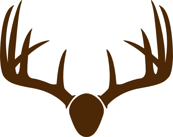 Brown Deer Skull Mount Clip Art at Clker.com.