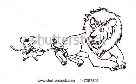 Showing post & media for Lion biting cartoon.