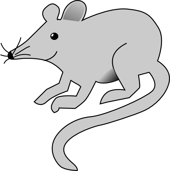 Simple Gray Mouse Clip Art at Clker.com.