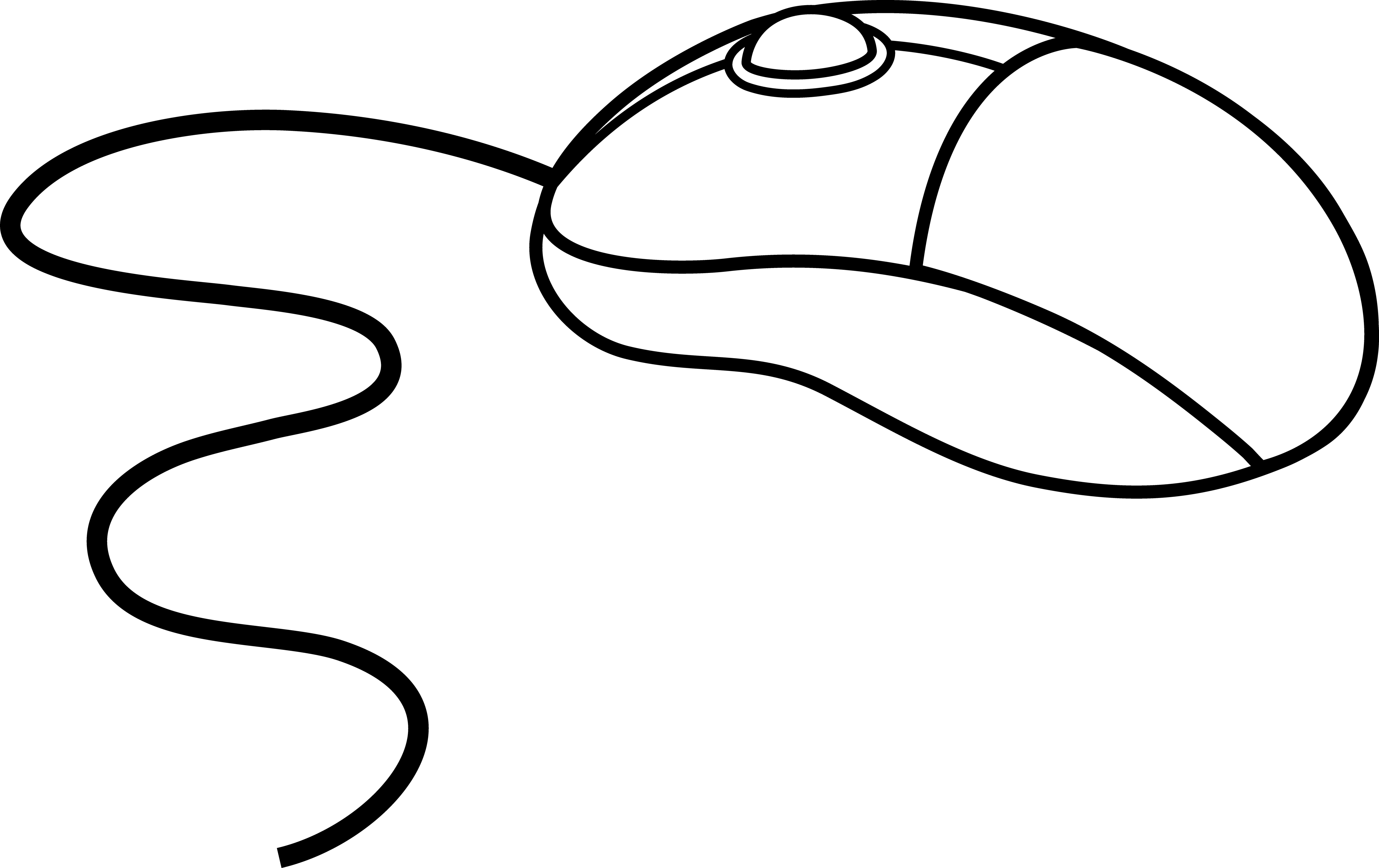 Mouse Clipart Black And White & Mouse Black And White Clip Art.