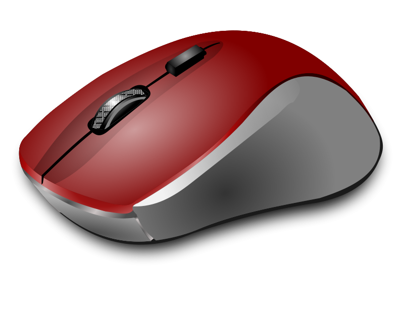 Dell computer mouse clipart.
