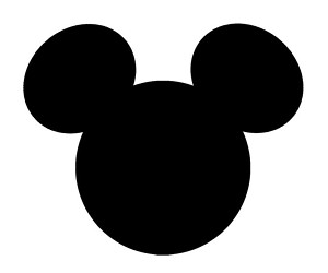 Mickey Mouse Ear Clipart.